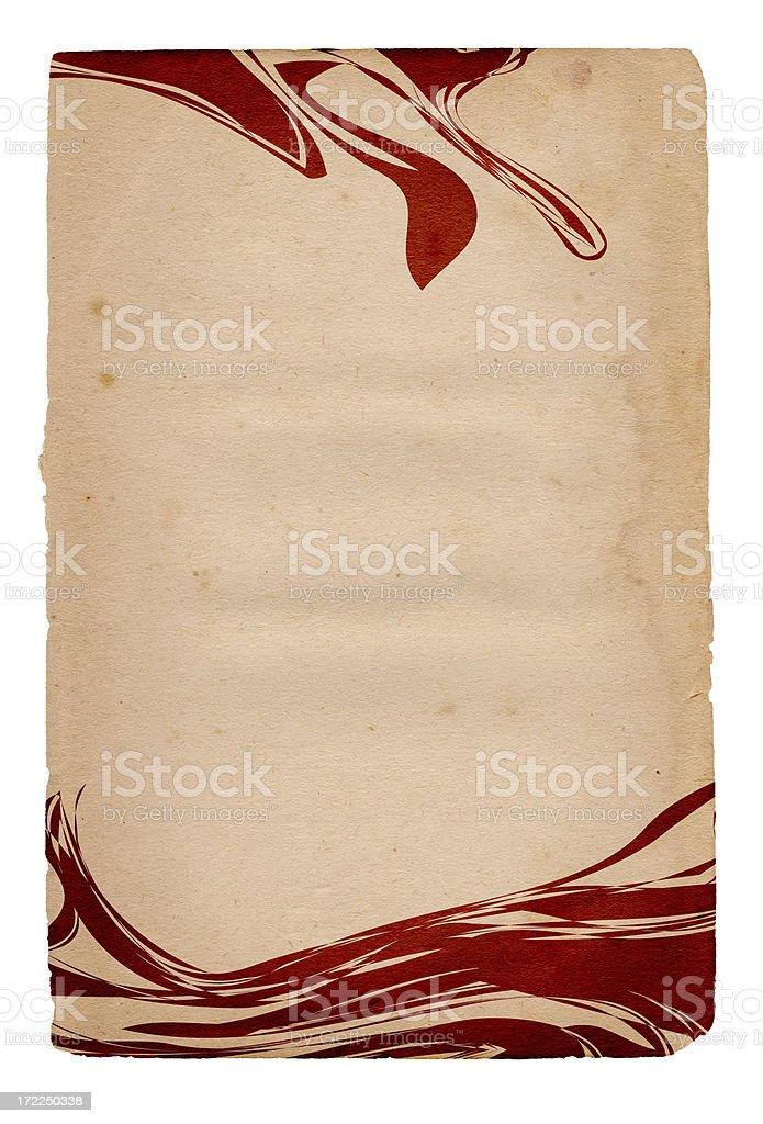 Vintage Element Paper XXXL royalty-free stock photo