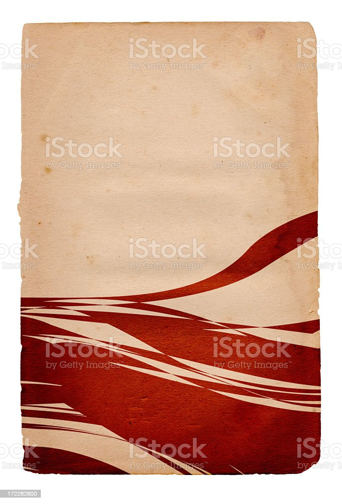 Vintage Element Paper XXXL stock photo
