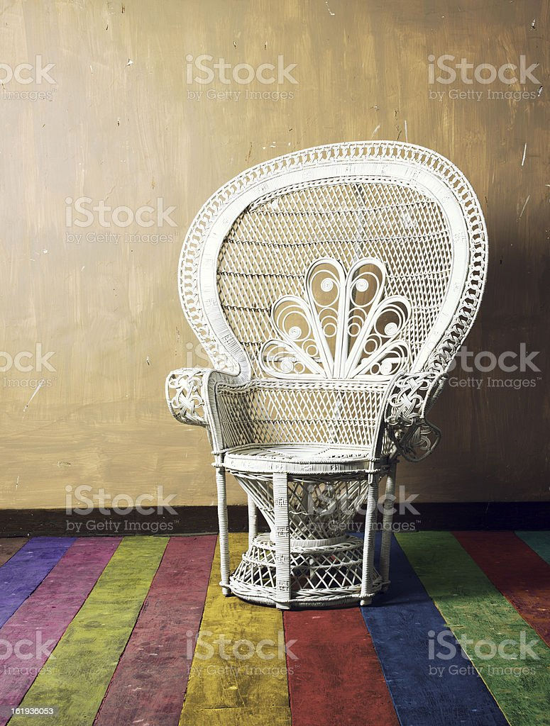 Vintage Emanuel Chair stock photo