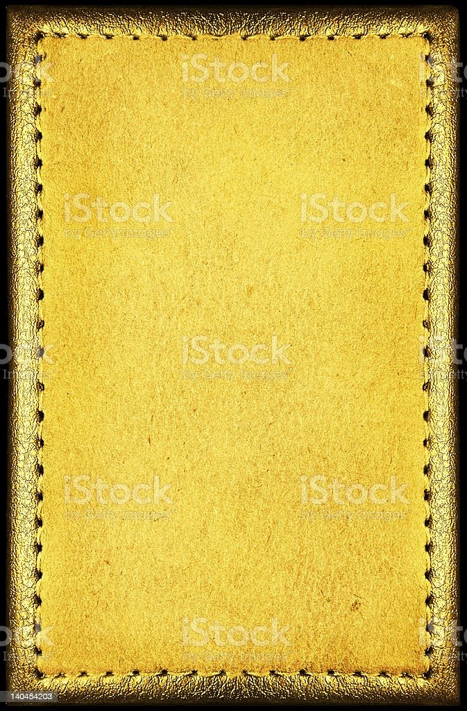 Vintage empty blank with antique frame royalty-free stock photo