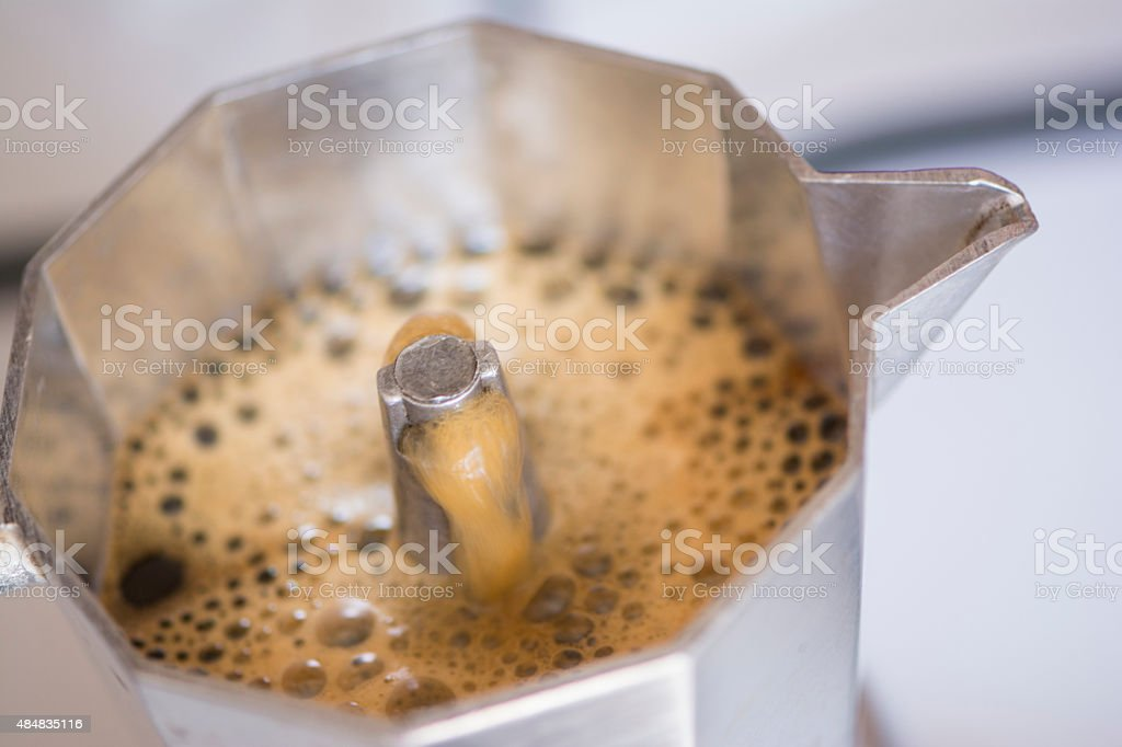 Vintage Espresso stock photo