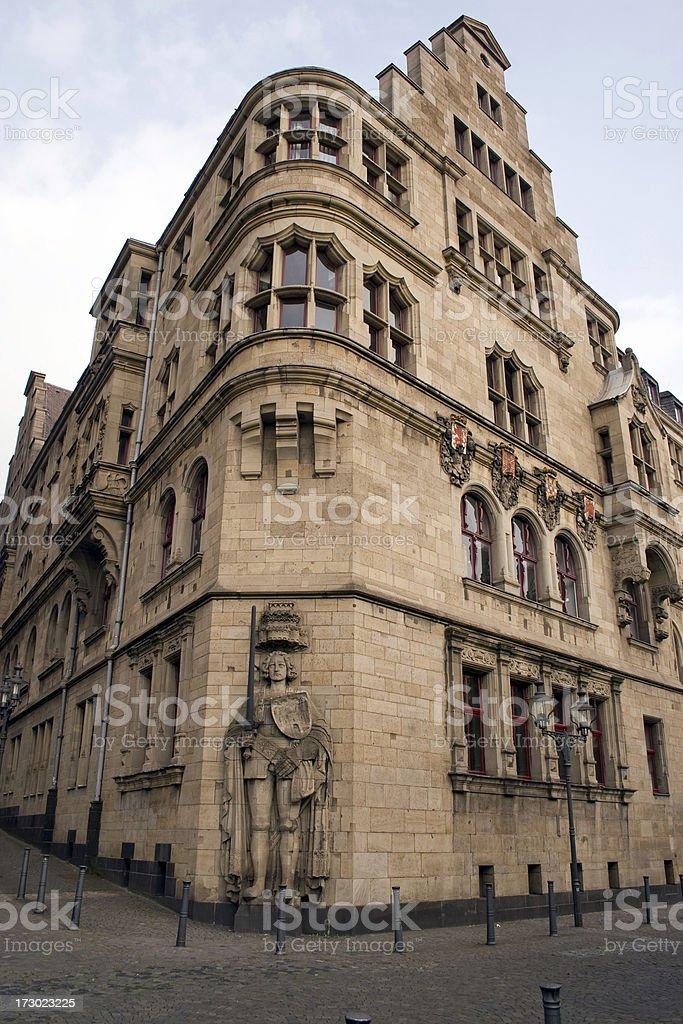 Vintage facade royalty-free stock photo