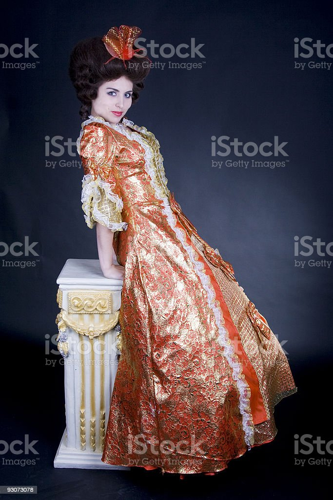 Vintage Fashion royalty-free stock photo
