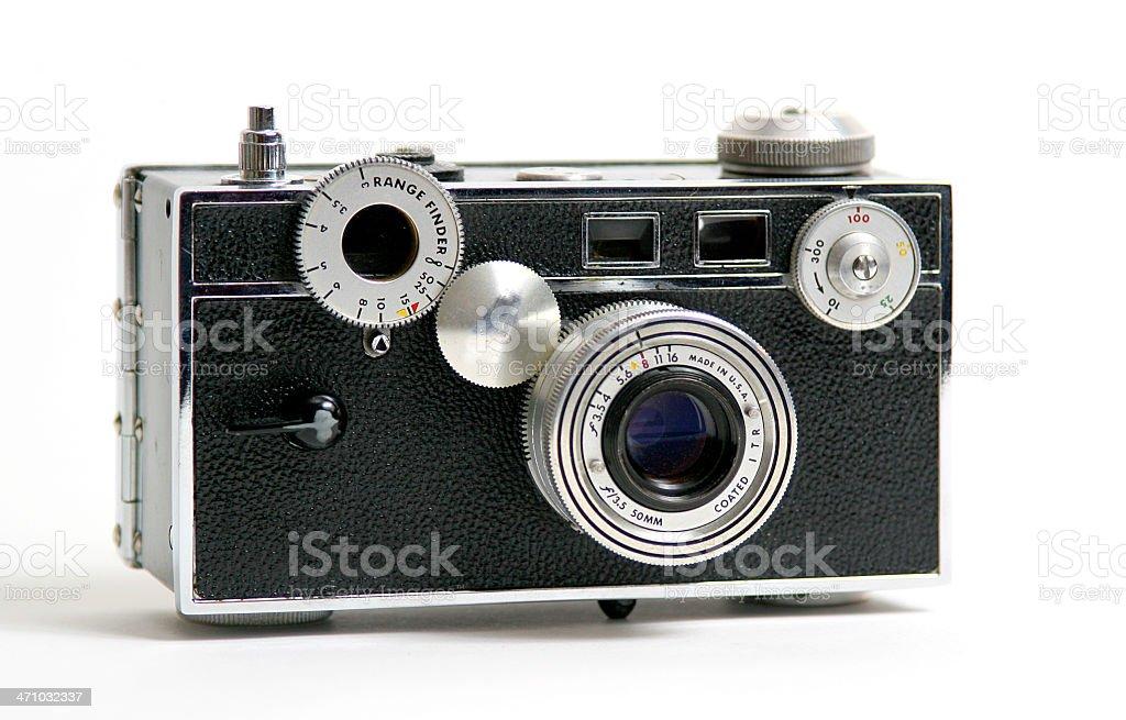 Vintage fifties camera. stock photo