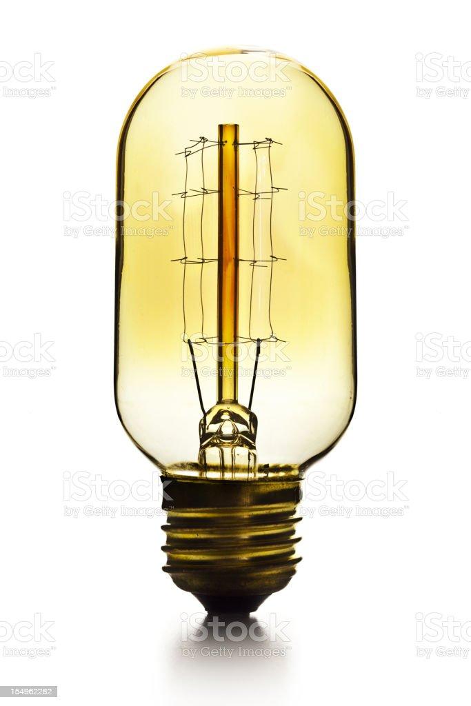 vintage filament bulb royalty-free stock photo