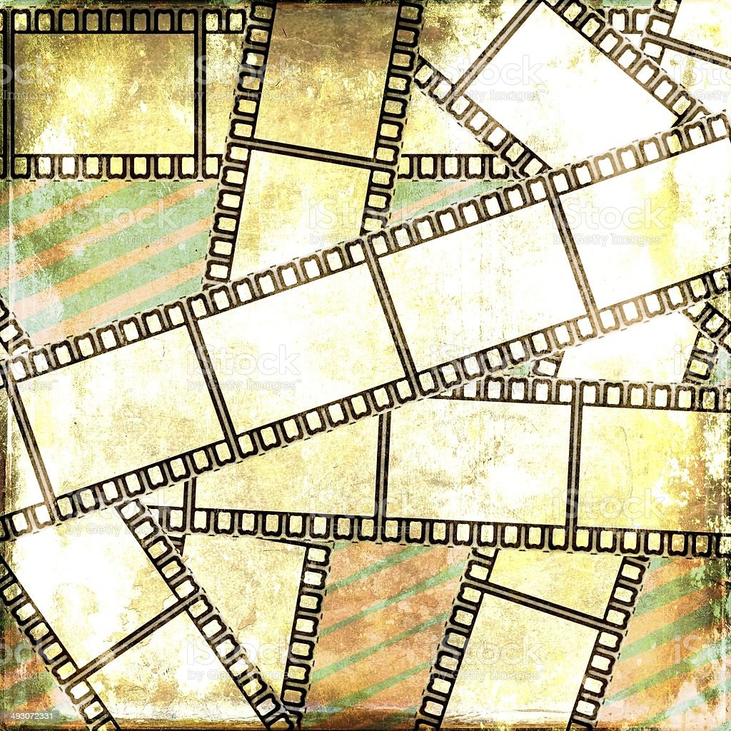Vintage Film Strip Background stock photo 493072331 | iStock