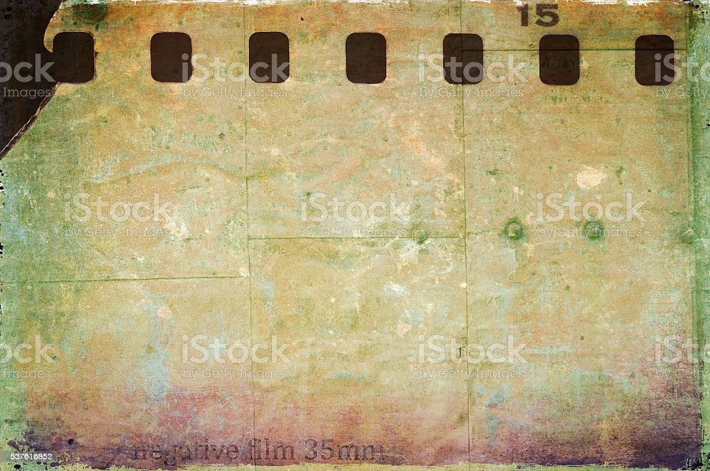 Vintage film strip frame background stock photo