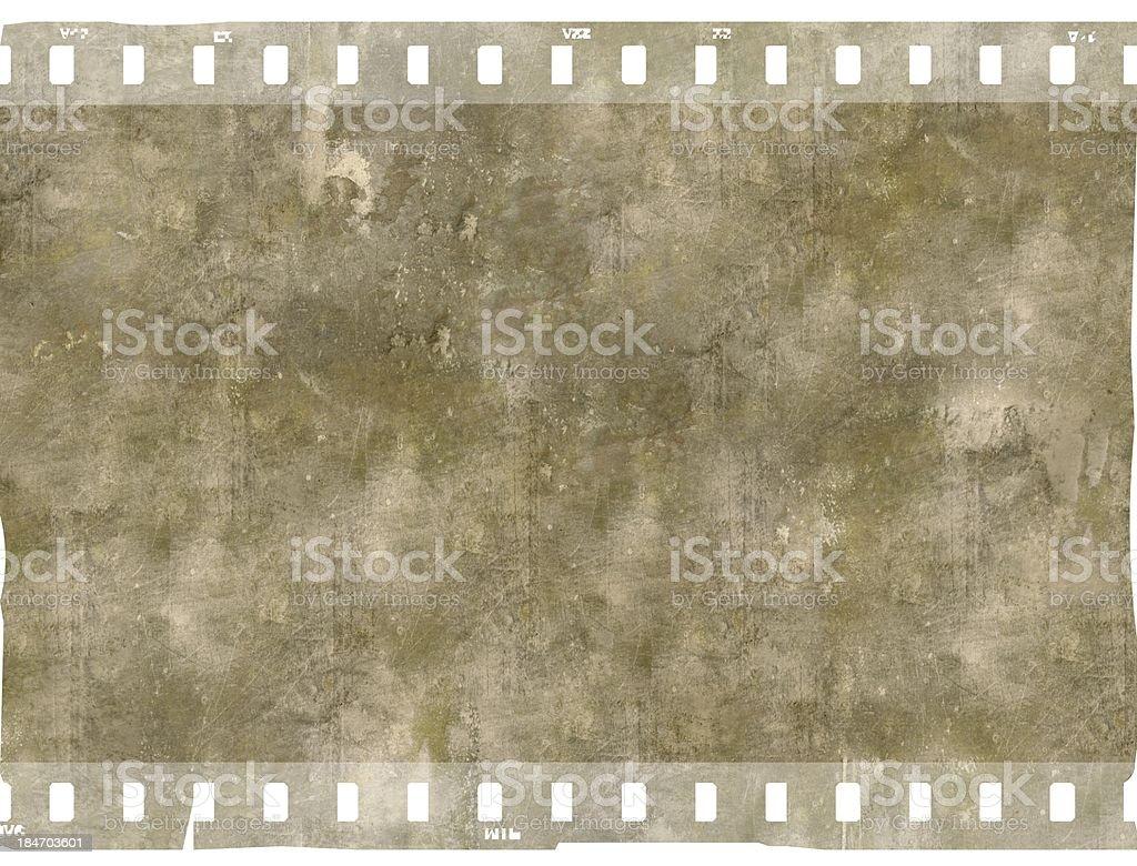 Vintage film strip frame royalty-free stock photo