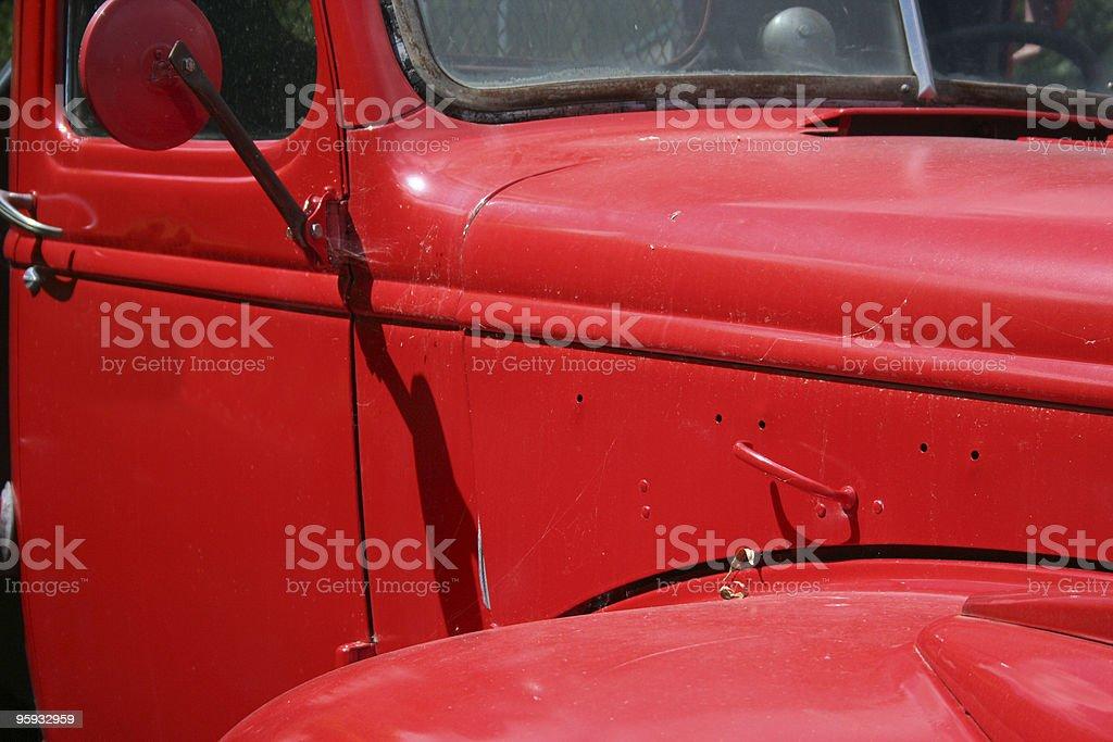 Camion de pompiers Vintage photo libre de droits