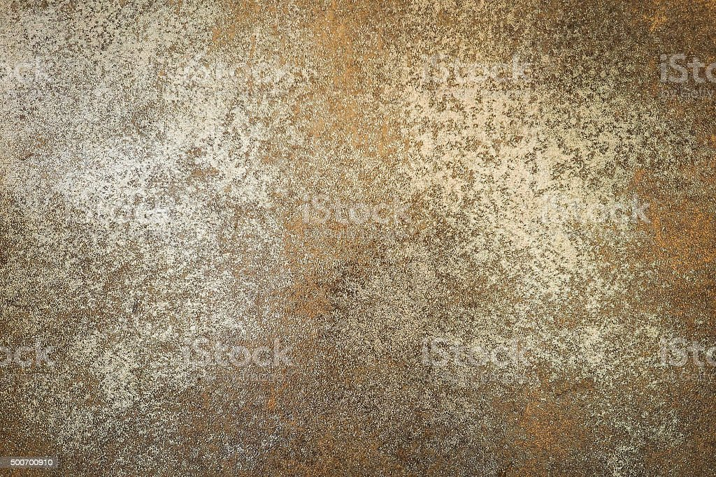 Vintage floor brown rust color use for background or wallpaper stock photo