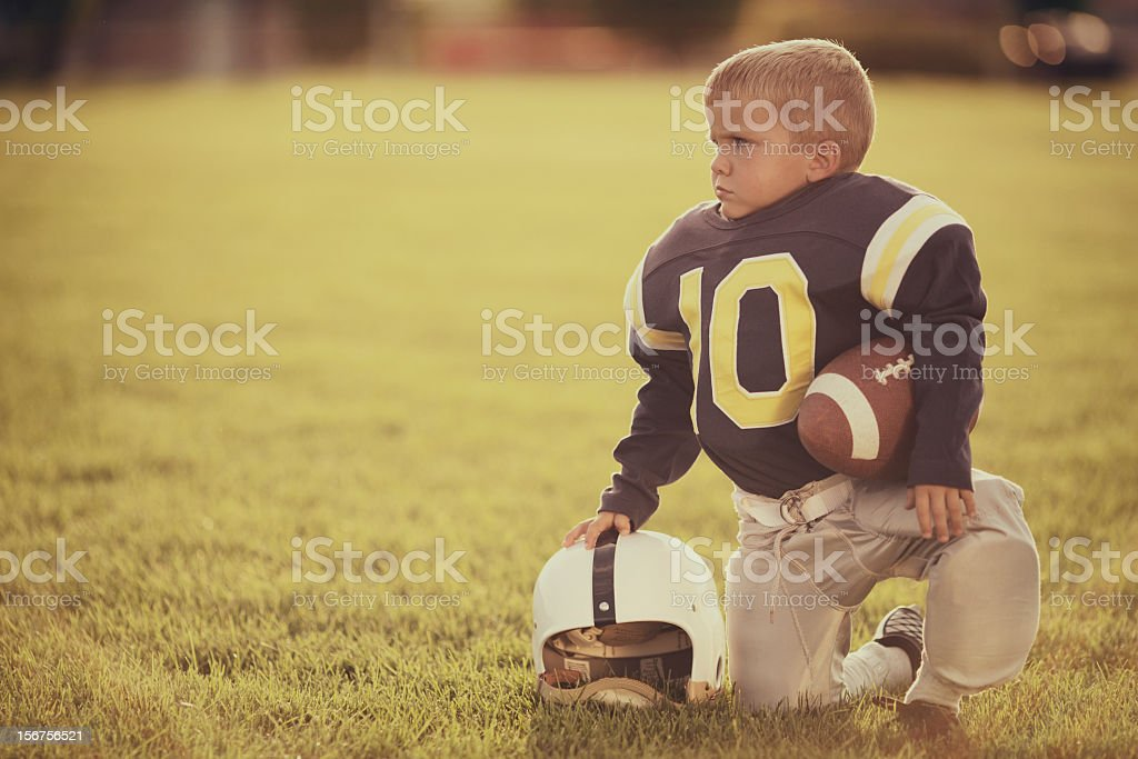 Vintage Football stock photo