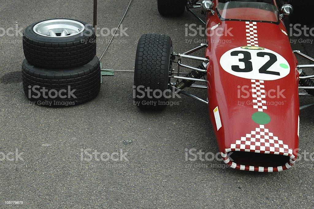 Vintage Formula 3 stock photo