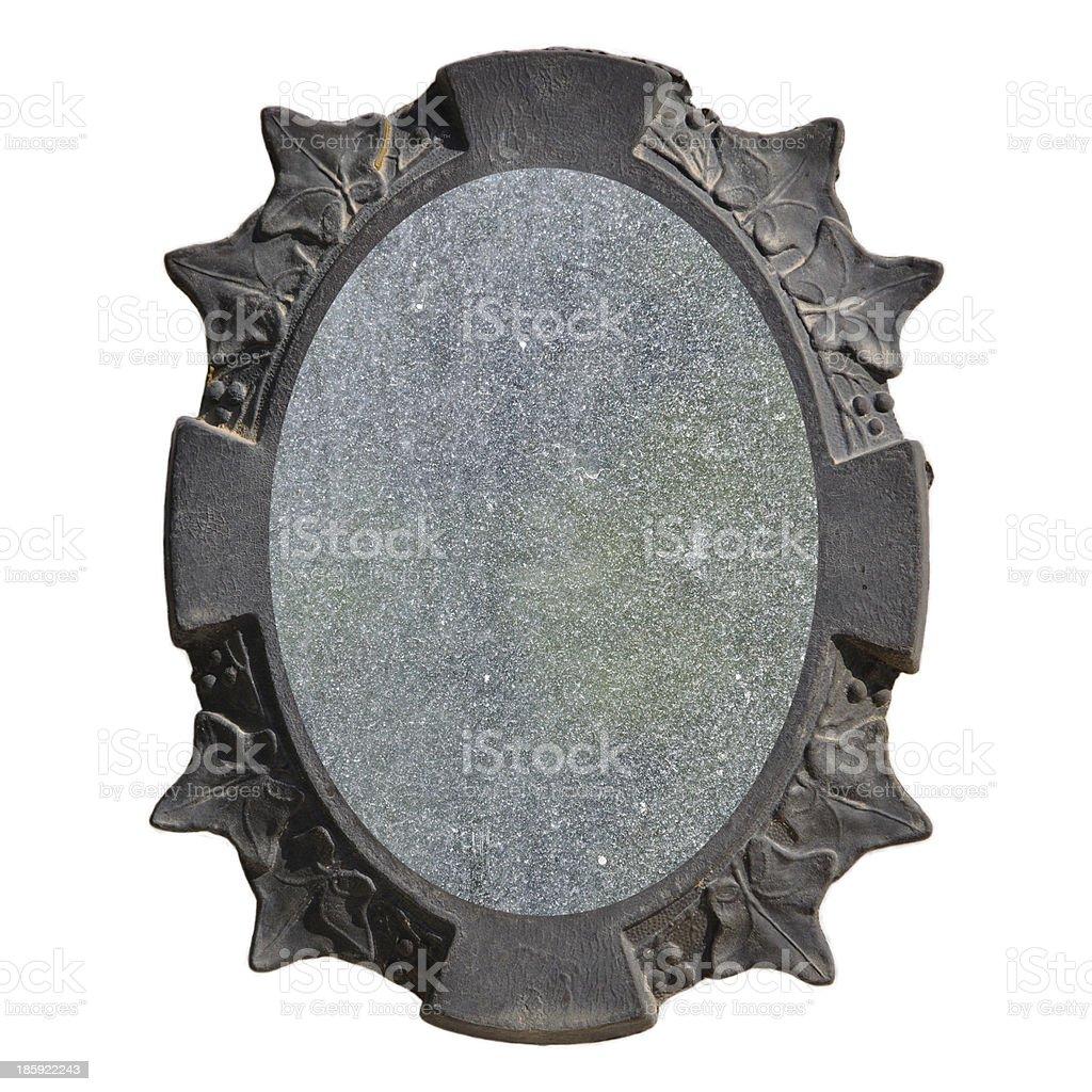 vintage frame leaf pattern royalty-free stock photo