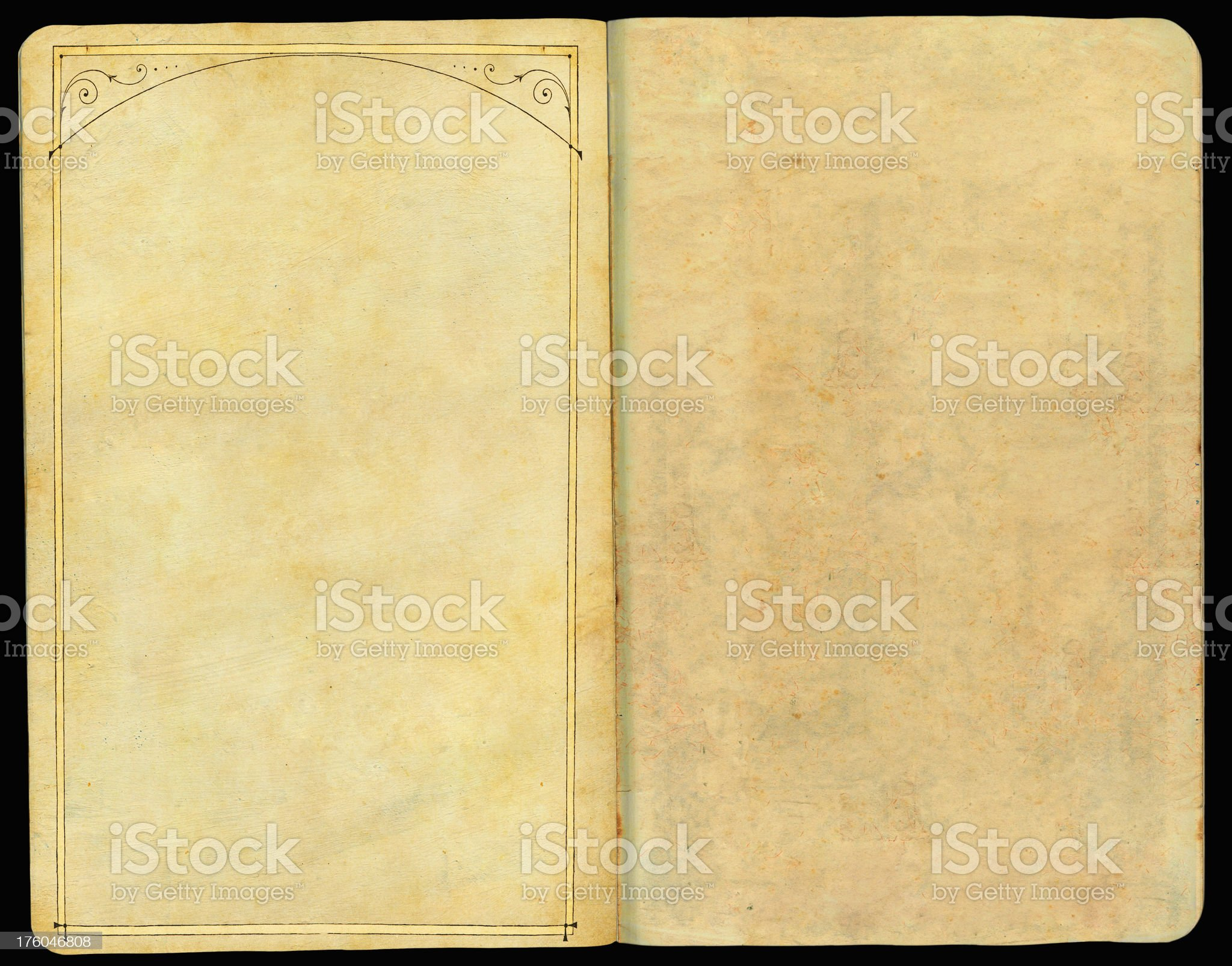 Vintage Frame Photo Album royalty-free stock photo
