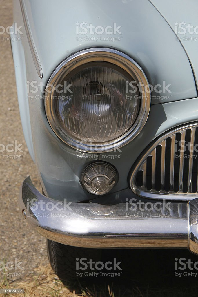 Vintage French Car royalty-free stock photo