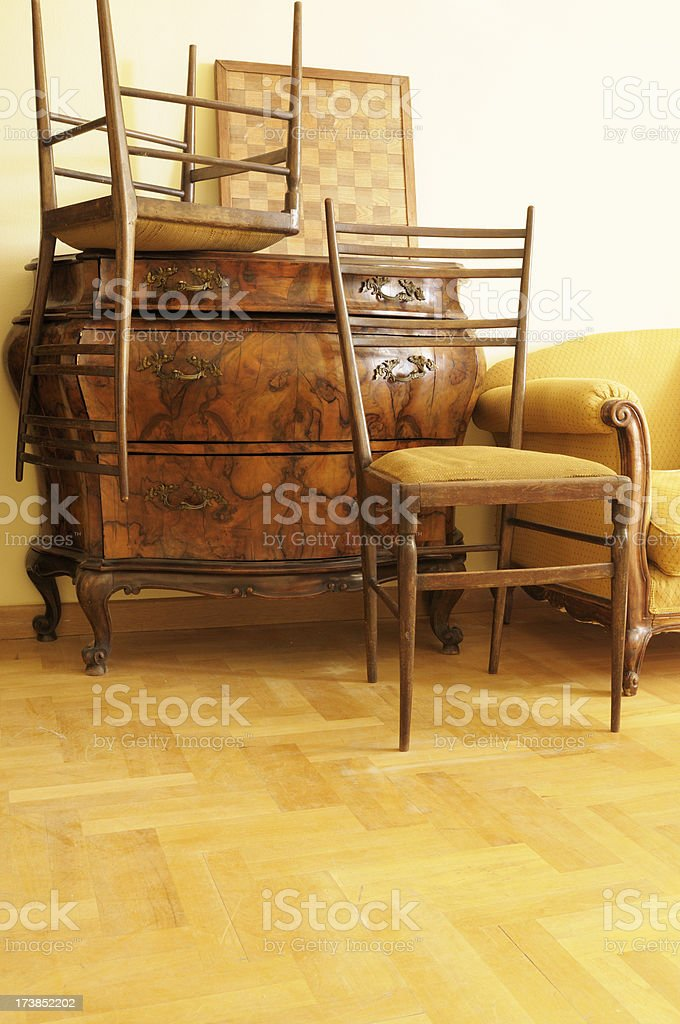 Vintage Furniture stock photo
