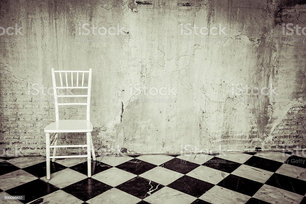 vintage furniture stock photo