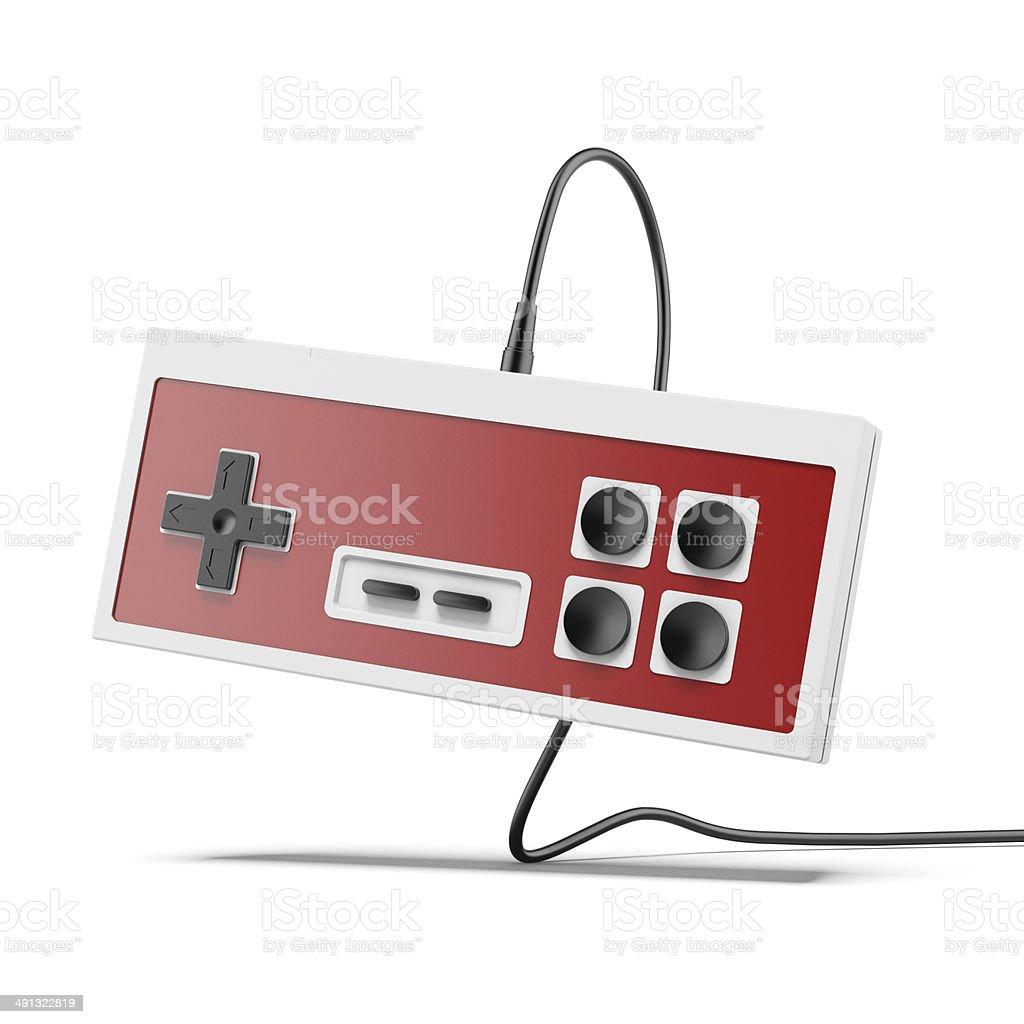 Vintage game joystick royalty-free stock photo