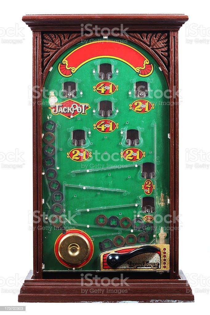 Vintage game royalty-free stock photo