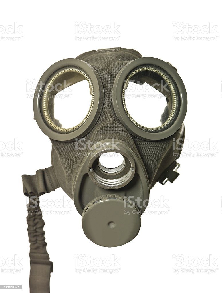 Vintage Gas Mask stock photo