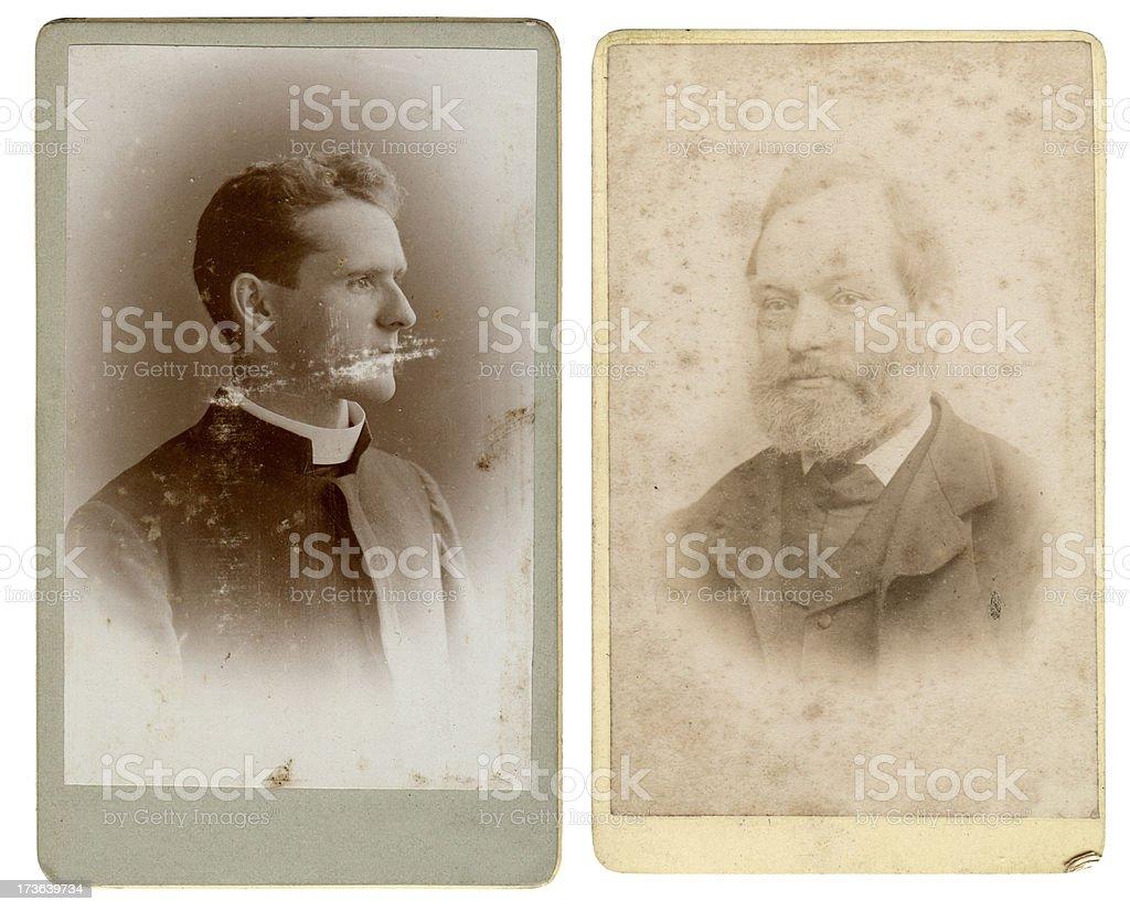 Vintage gentlemen royalty-free stock photo