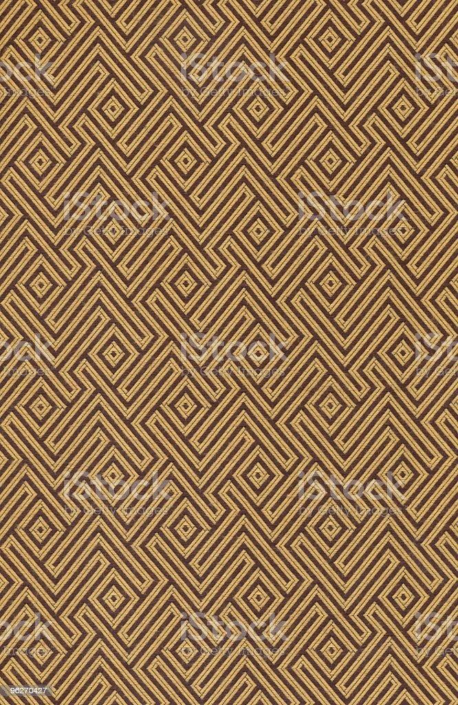 Vintage Geometric Pattern royalty-free stock photo