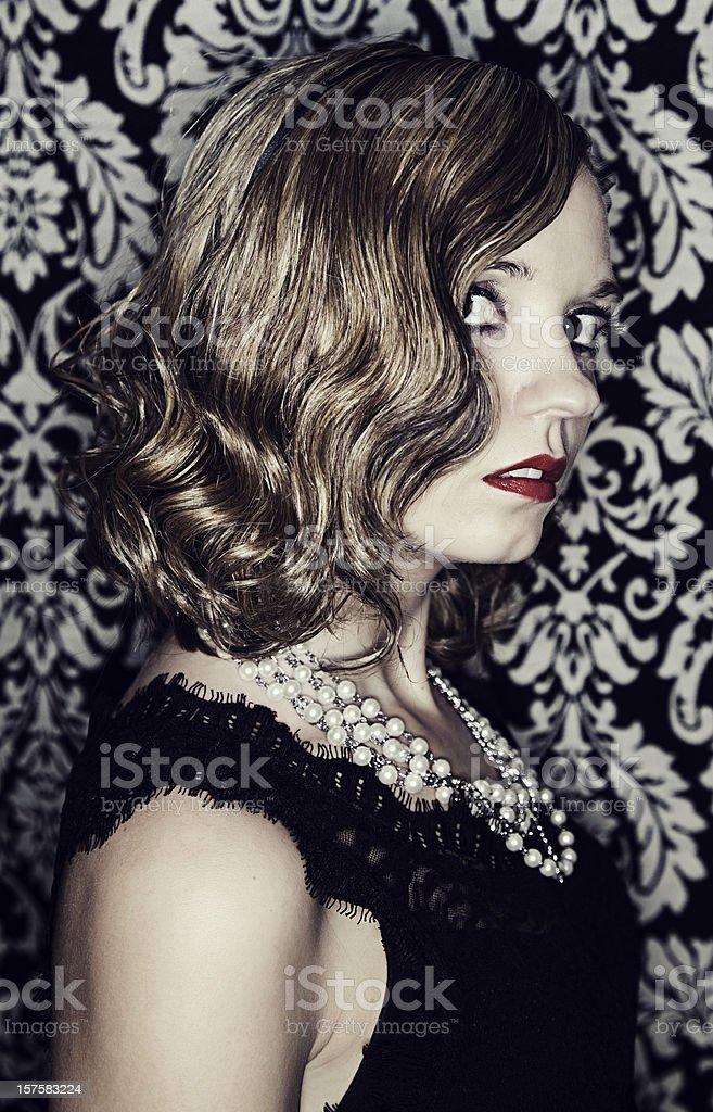 Vintage Glamour royalty-free stock photo