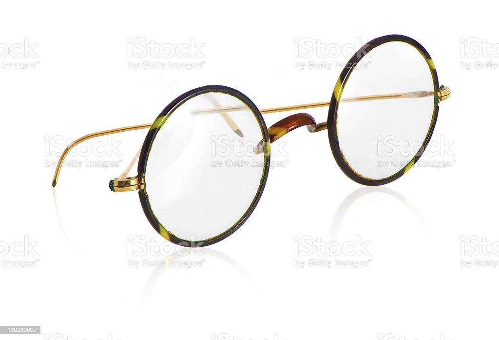 Vintage glasses stock photo