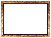 Vintage gold frame design.