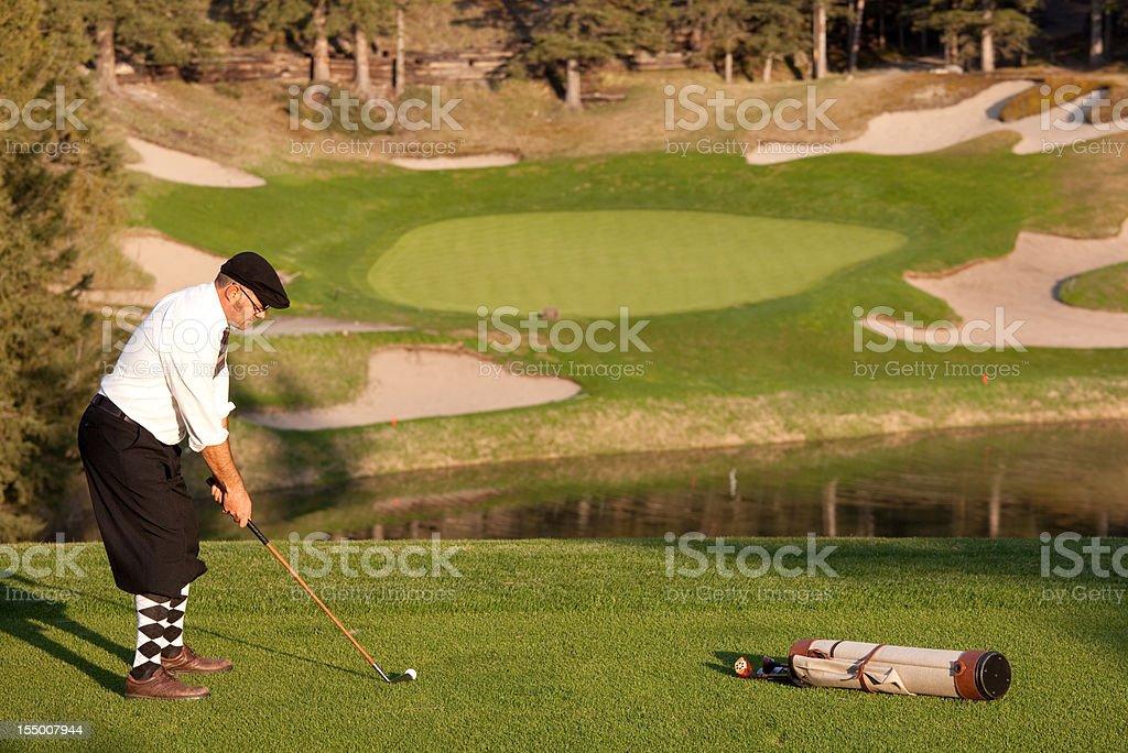 Vintage Golf stock photo
