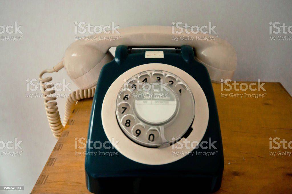 Vintage GPO telephone stock photo