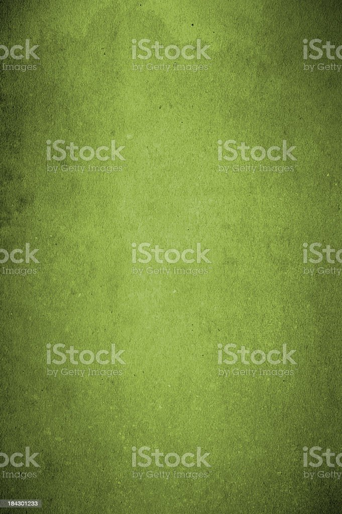 Vintage Green Paper stock photo
