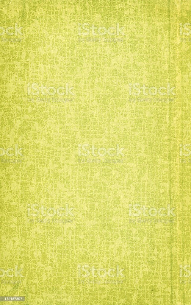 Vintage Green Textured Paper Background royalty-free stock photo