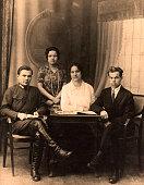 Vintage group portrait