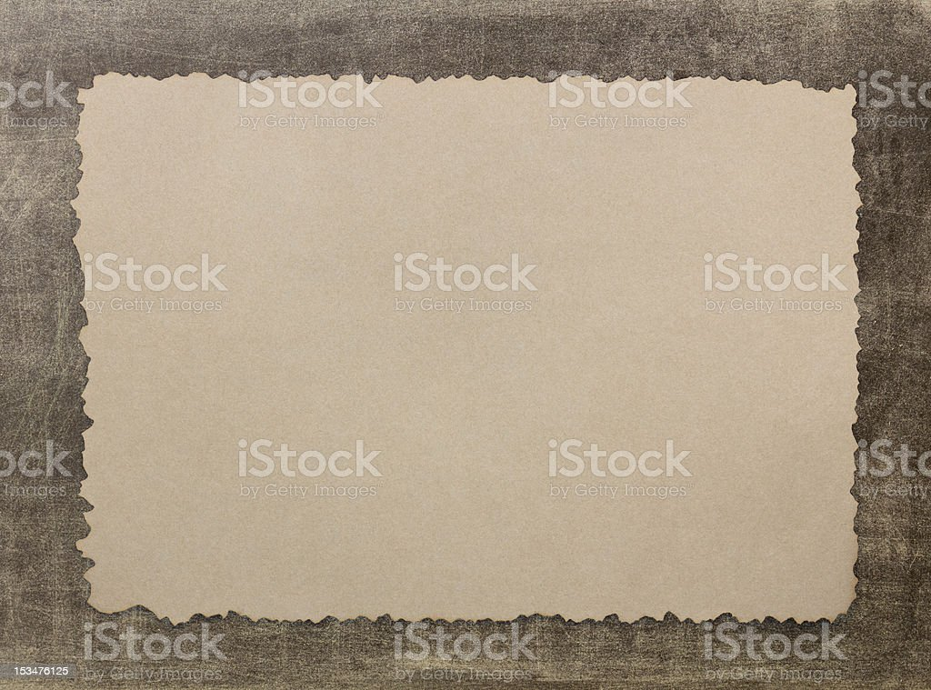 Vintage grunge burnt paper2 royalty-free stock photo