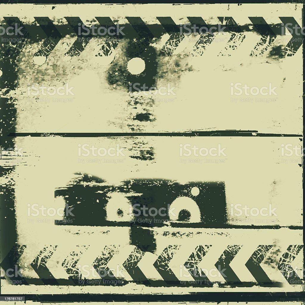 Vintage grunge film background royalty-free stock photo