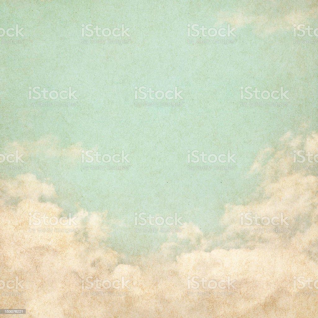 Vintage Grunge Sky royalty-free stock photo