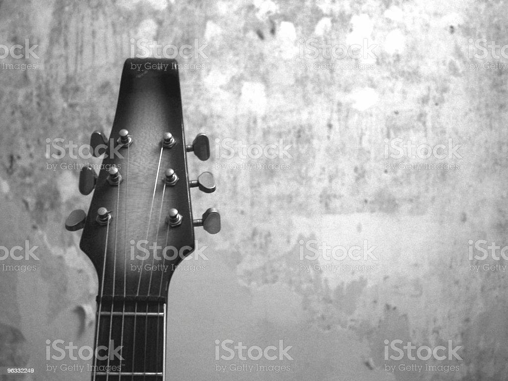 Vintage Guitar royalty-free stock photo