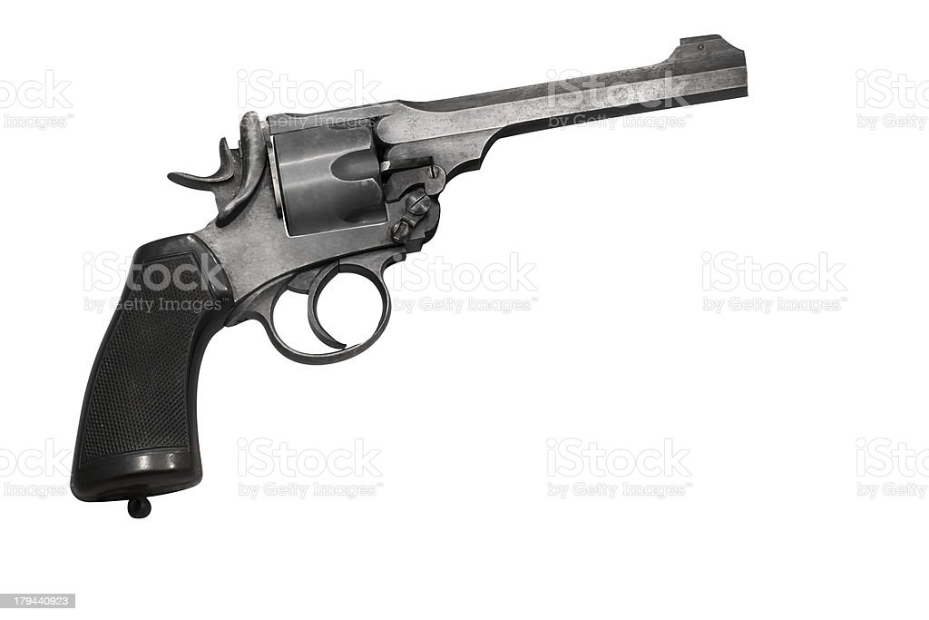 vintage gun royalty-free stock photo