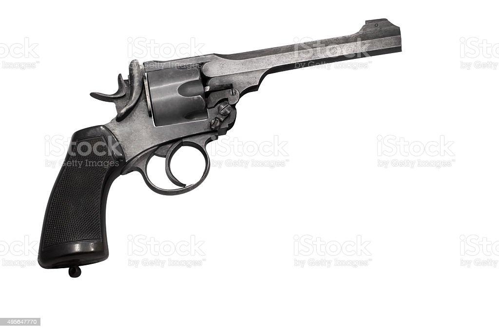 vintage gun stock photo