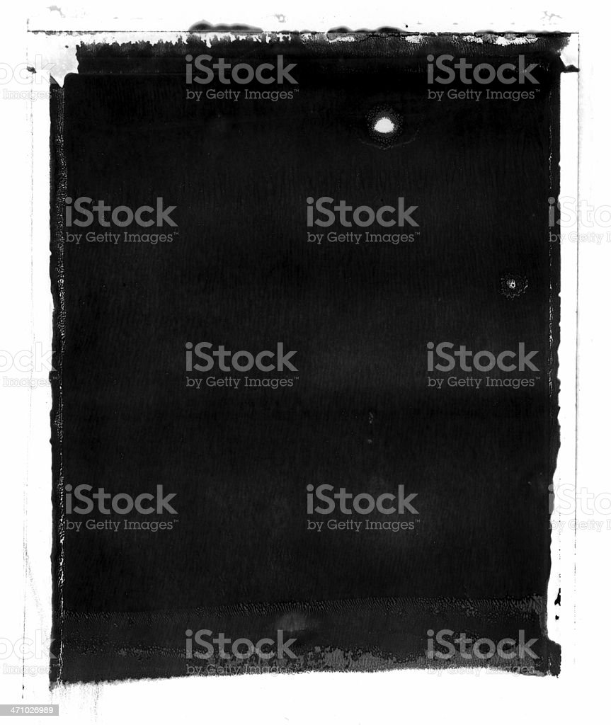 Vintage gunge style image frame stock photo