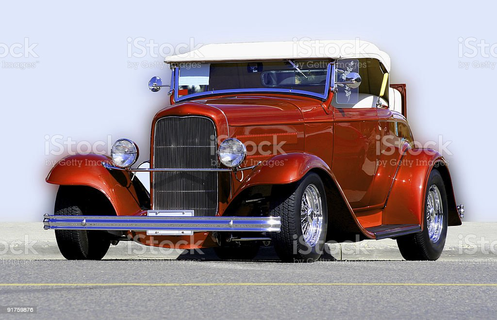 Vintage Hot Rod stock photo