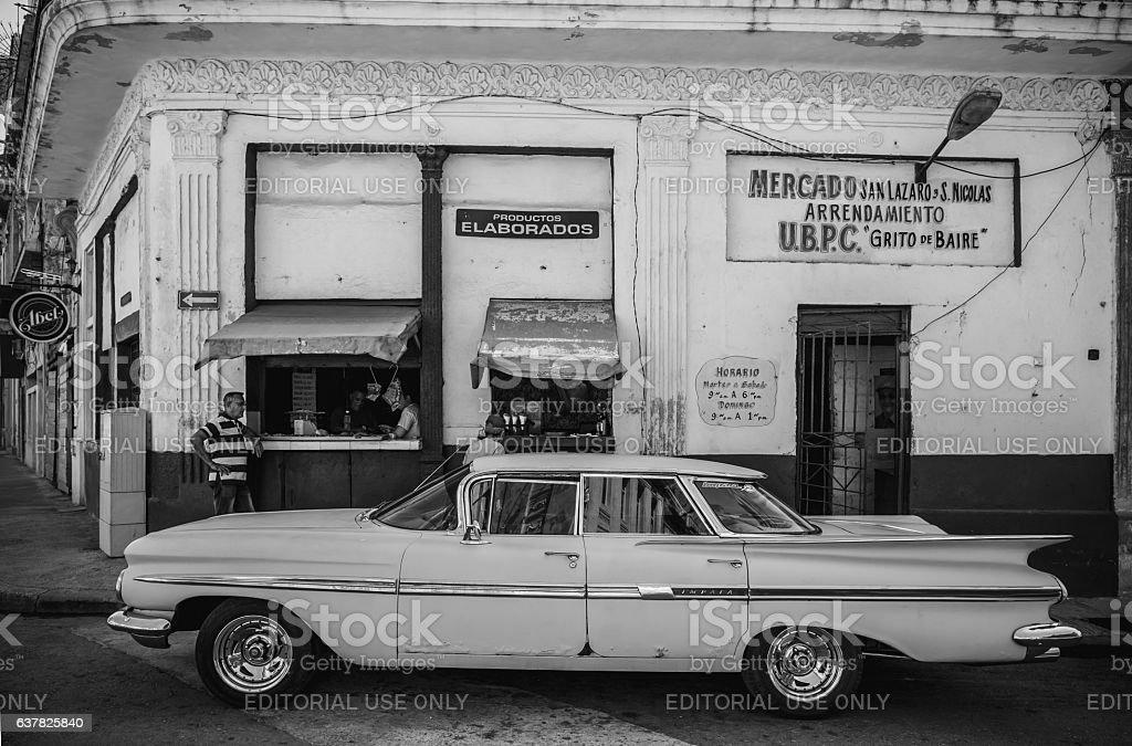 Vintage in Havana stock photo