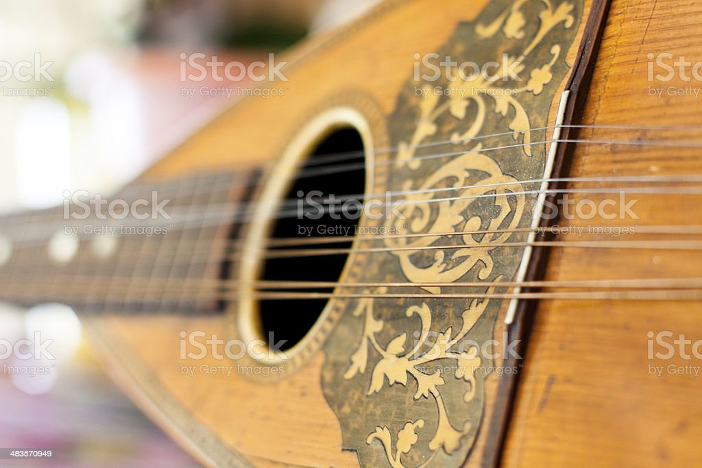 Vintage Instrument stock photo
