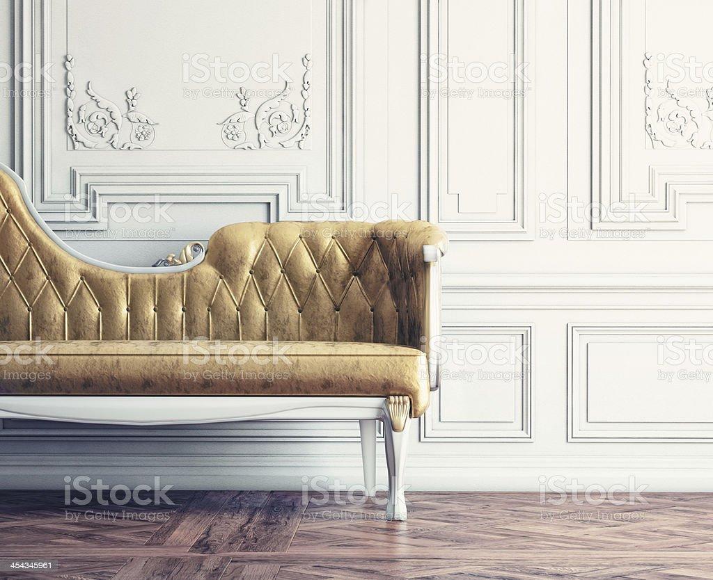 vintage interior stock photo