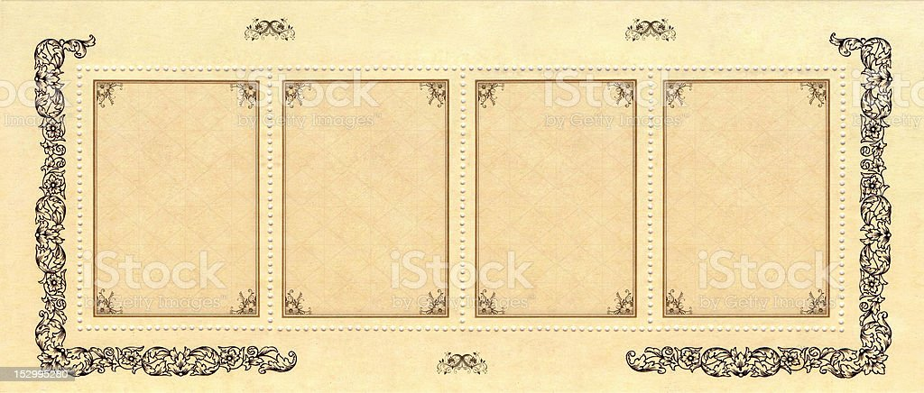 vintage Internet banner royalty-free stock photo