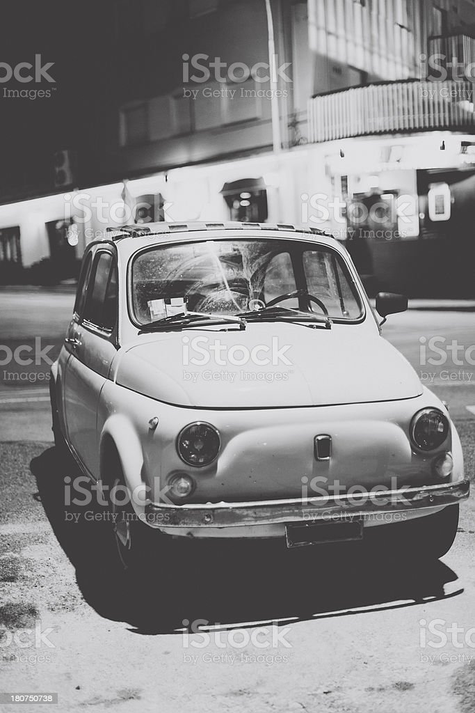 Vintage italian Car royalty-free stock photo