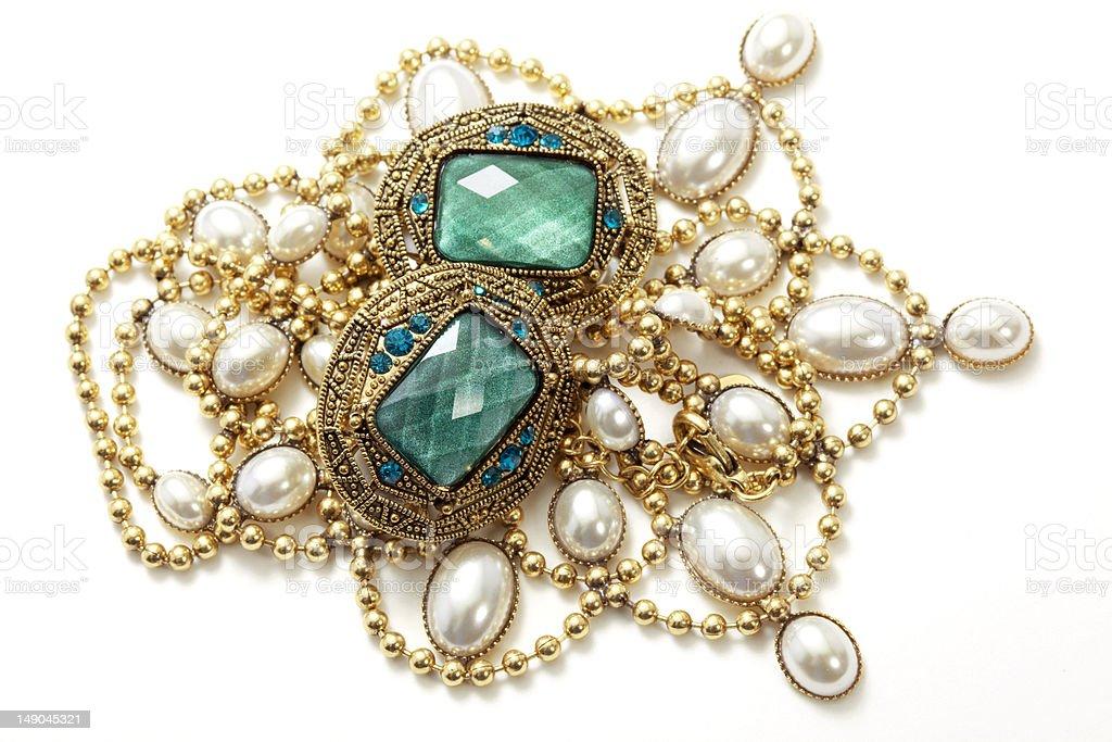 vintage jewelry royalty-free stock photo
