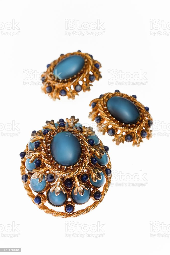 Vintage Jewelry Set royalty-free stock photo