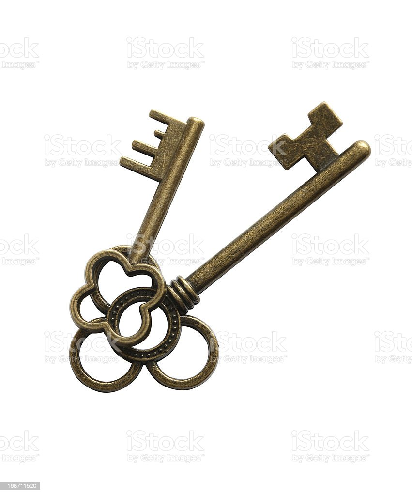 Vintage Keys royalty-free stock photo